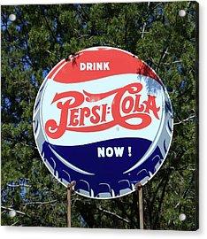 Drink Pepsi - Cola Now  Acrylic Print