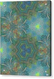 Drinking The Nectar Of Life Acrylic Print by Maria Watt