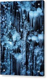Dripping In Diamonds Acrylic Print by Darren White