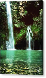 Dripping Springs In The Afternoon II Acrylic Print