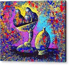 Dripx 79 Acrylic Print