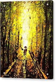 Dripx 71 Acrylic Print
