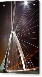 Drive-by Lights Acrylic Print by Andrew Crispi