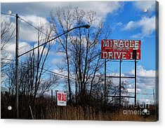 Drive-in For Sale Acrylic Print
