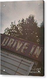 Drive In II Acrylic Print