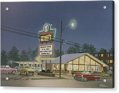 Drive-in Restaurant Acrylic Print