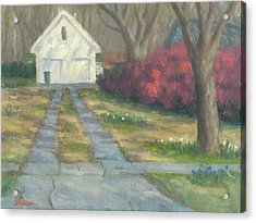Driveway Acrylic Print by Michael Gillespie