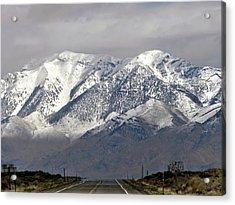 Driving In Idaho Acrylic Print