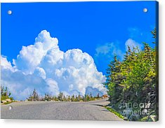 Driving Into The Clouds Acrylic Print