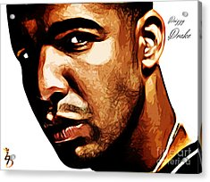 Drizzy Drake Acrylic Print by The DigArtisT