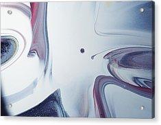 Marbling - Drop Acrylic Print by BONB Creative