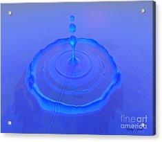 Drop Acrylic Print by Corey Ford