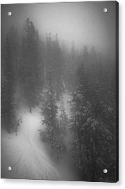Acrylic Print featuring the photograph Drop In by Mark Ross