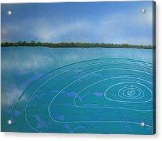 Drop In The Ocean Acrylic Print