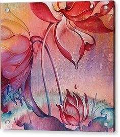 Drop Of Love Acrylic Print