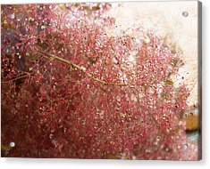 Acrylic Print featuring the digital art Droplets by Margaret Hormann Bfa
