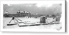 Drottningholm Castle Winter IIi Acrylic Print by Mikael Jenei