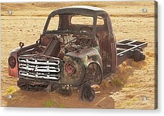 Drought And '51 Studebaker Acrylic Print