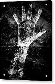 Drowning Acrylic Print by Venura Herath