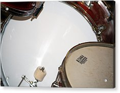 Drum 4 Acrylic Print by Jame Hayes
