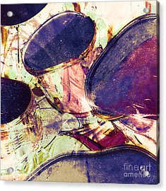 Acrylic Print featuring the photograph Drum Roll by LemonArt Photography