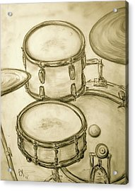 Drummers View Acrylic Print