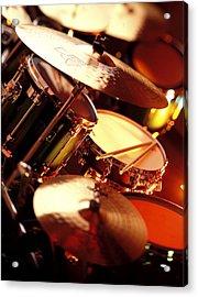 Drums Acrylic Print by Robert Ponzoni