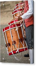Drums Of The Revolution Acrylic Print by Christopher Holmes