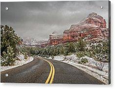 Boynton Canyon Road Acrylic Print by Racheal Christian