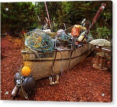 Acrylic Print featuring the photograph Dry Dock Art by Thom Zehrfeld