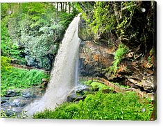 Dry Falls Highlands North Carolina 2 Acrylic Print