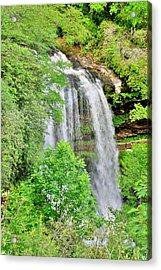 Dry Falls Highlands North Carolina Vertical 2 Acrylic Print