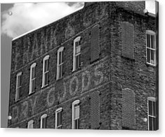 Dry Goods Acrylic Print by David Lee Thompson