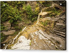 Dry Lucifer Falls Acrylic Print by Kristopher Schoenleber