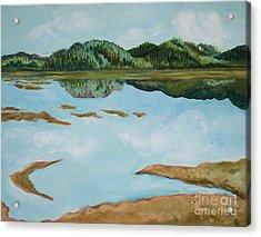 Dry Pass Acrylic Print