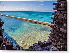 Dry Tortugas 1 Acrylic Print by Richard Smukler