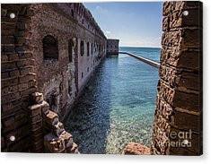 Dry Tortugas 2 Acrylic Print by Richard Smukler