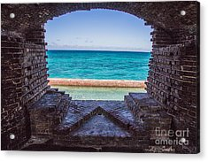 Dry Tortugas 3 Acrylic Print by Richard Smukler
