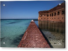 Dry Tortugas 4 Acrylic Print by Richard Smukler