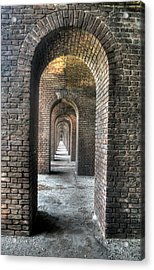 Dry Tortugas - Fort Jefferson - Doorways Acrylic Print