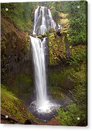 Acrylic Print featuring the photograph Dual Cascade by Todd Kreuter