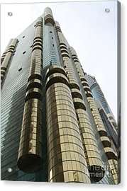 Dubai Building 01 Acrylic Print by Mike Holloway