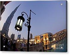 Dubai Burj Khalifa Acrylic Print by Juergen Held