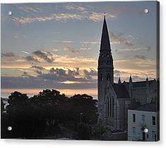 Dublin Sunset Acrylic Print