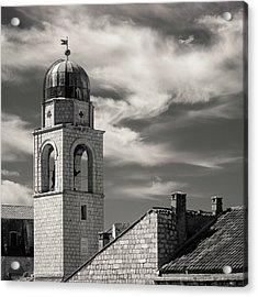 Dubrovnik Bell Tower Acrylic Print