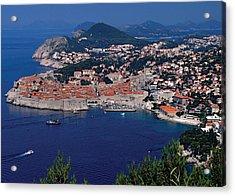 Dubrovnik Croatia Acrylic Print by Don Wolf