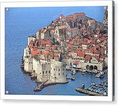 Dubrovnik  Acrylic Print
