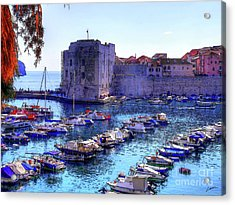 Dubrovnik Harbour Acrylic Print