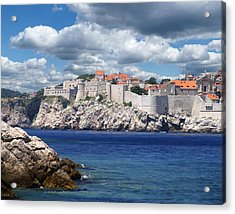 Dubrovnik On The Adriatic Acrylic Print