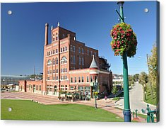 Dubuque Star Brewery Acrylic Print